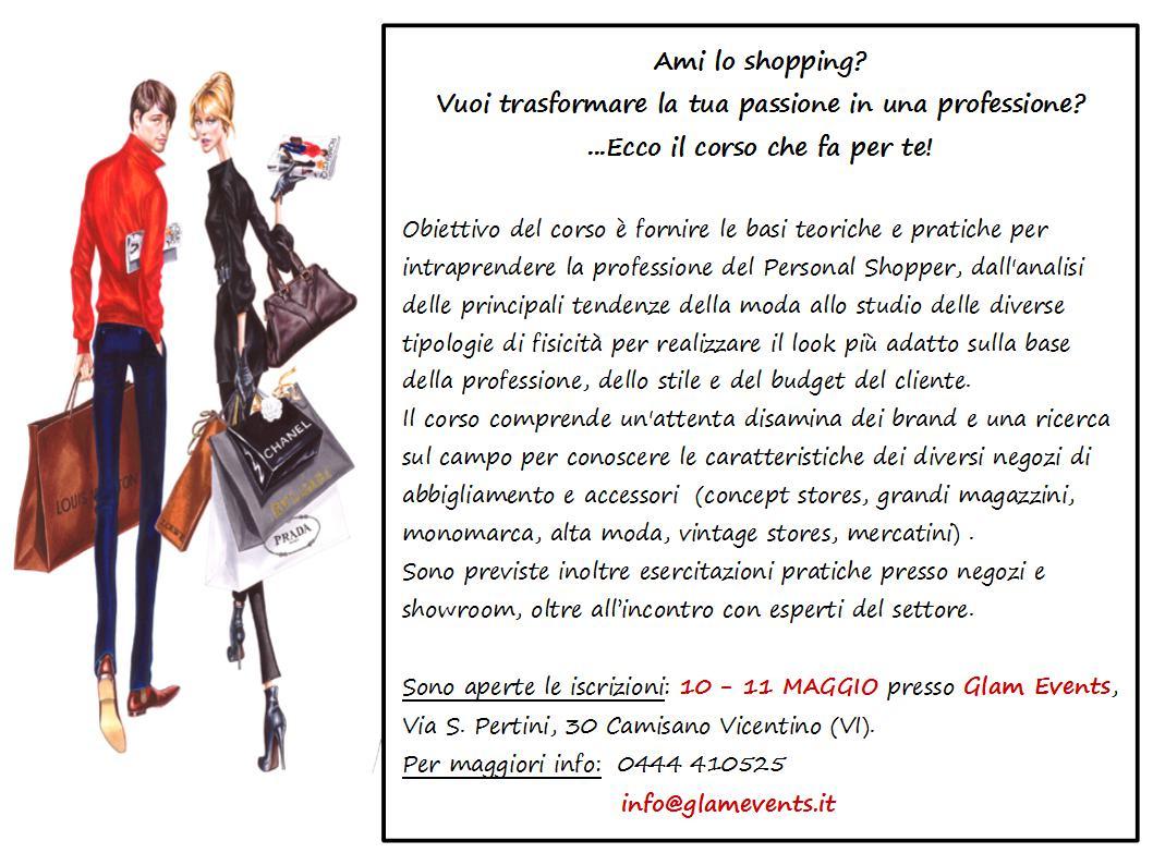 Corso personal shopper - Glam Events