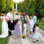 animazione clown matrimonio Glam events 1