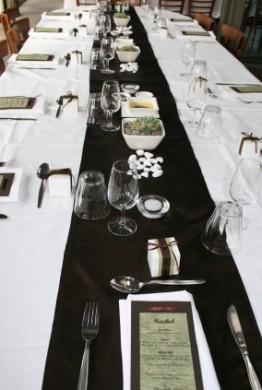 Allestimento Tavolo Bianco E Nero.Un Matrimonio In Bianco E Nero Glam Events