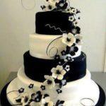 torta bianca e nera Glam Events 1