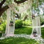 Backdrop tessuti e fiori 1